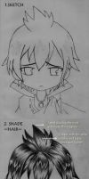 how I draw zeref by r-a-ven
