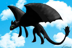 Toothless by Nina-13draco