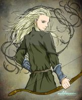 Warrior Prince Legolas by Neldorwen