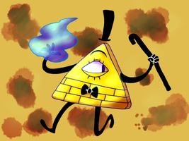 Bill Cipher by FiddleStixxx