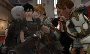 Dragon Age 2: Foursome by alsiony
