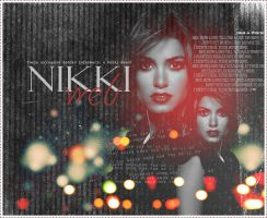 nikki reed. by kala4848