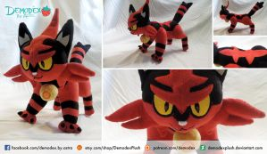 Torracat -SOLD by DemodexPlush