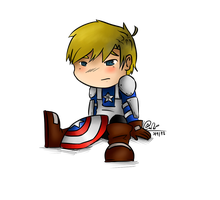 Captain America by Pinchii