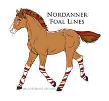 A1554 Nordanner Foal by NativeWolf330