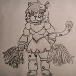 Fnaf 2 Lea the Leopard by flippy509