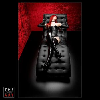 psychological session in red by blackfantastix