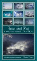 Clouds Stock Pack 01 by Zankruti-Murray