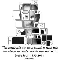 RIP Steve Jobs by WillZMarler