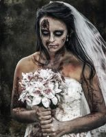 Zombie Bride by RichJohnsonPhoto