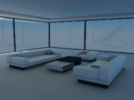 Assorted Living Room Furniture - C4D by DCkiq