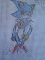 Metal Sonic- TA by DaniChaos234
