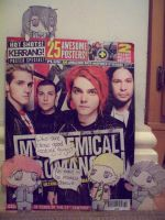 Paper Child -MCR + KERRANG by xYamiKawaitax