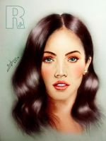 Megan Fox - Colored by Raphael-25