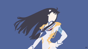 Kiryuin Satsuki {Kill la Kill} by greenmapple17