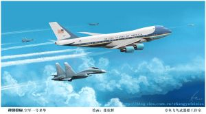 Air Force One by huihui1979