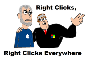 Right Clicks Everywhere by FunnyDank