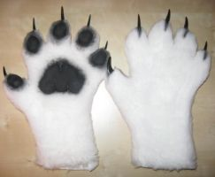 Kira Tiger Handpaws by Monoyasha
