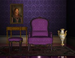Premade room 01 violet by Ecathe