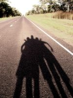 the last road shadow photo XD by 16Ice-Heart16