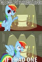 No Wonderbolts for Rainbow Dash by Puppet-Child