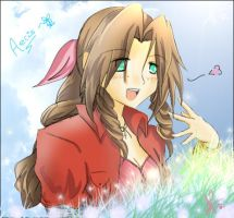 Aerith: happines. by AriNekotaku