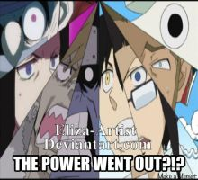 THE POWER WENT OUT?!? by Eliza-Artist