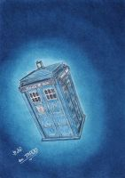 The TARDIS by 27GreenStrawberries