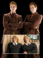 Fred y George Gif by BlessMySelf