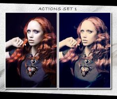 Action Set I by love-memory