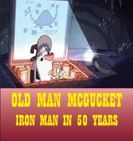 Old Man McGucket=Iron Man in 50 Years? by joyhorse13