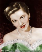 Joan Fontaine by GuddiPoland