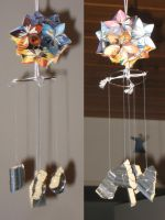 Kusudama Windchime by Selenere