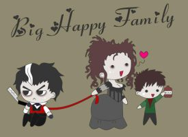 Happy Family -Sweeney Todd- by DDRshaman38