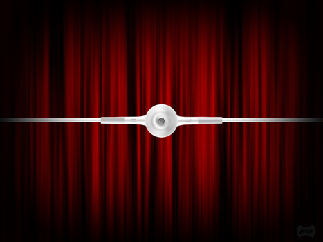 iPod Headphone - in Theatre by fantasy-apps