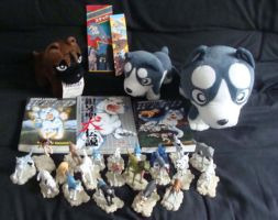 My Ginga Collection by SilverToraGe