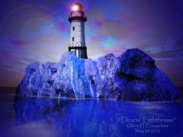 deans' lighthouse by StrainedEye