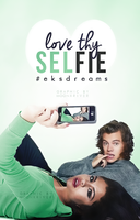 Love Thy Selfie // Book Cover by moonxriver