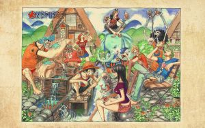 One piece Spread Wall Ch566 by TheAceOverlord