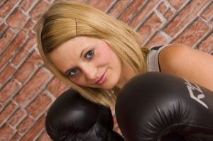more boxing girl by nigelsurfbum