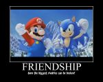 Friendship Non humorous by Nikkigamer