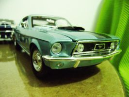 ford mustang cobra jet 68 scale 1 18 by EnriqueGomez