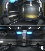 Space Hallway more by QUICKMASTER