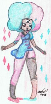 Cotton Candy! Garnet by Mischief-Soul-Lover