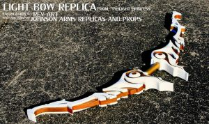 Twilight Princess 'Light Bow' Prop by JohnsonArms