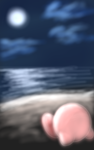Kirby's Moonlight Relaxation by ShadowChaos24