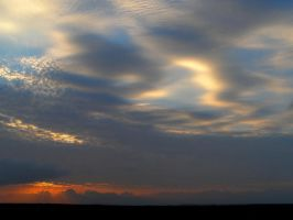 Clouds of Many Colours by AfroDitee