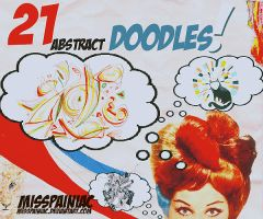 21 abstract doodles by misspainiac