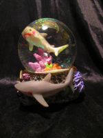 Shark Snowglobe by Avi-the-Avenger