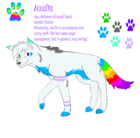 Official Fursona Ref by ShadoWolf89
